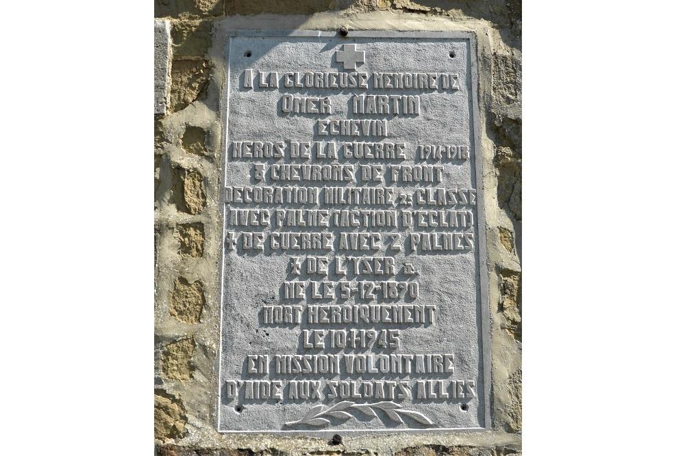 Commemorative plaques Grupont