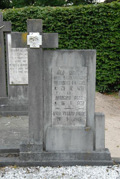 Dutch War Graves R.C. Cemetery St.Clemens Waalwijk
