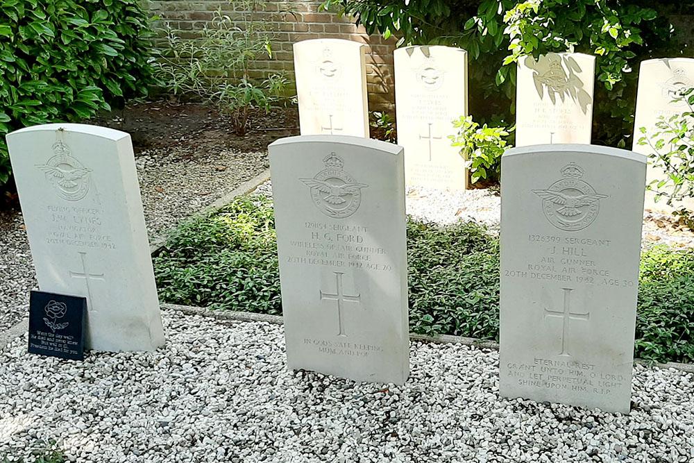 Oorlogsgraven van het Gemenebest Hervormde Begraafplaats Oosterhout