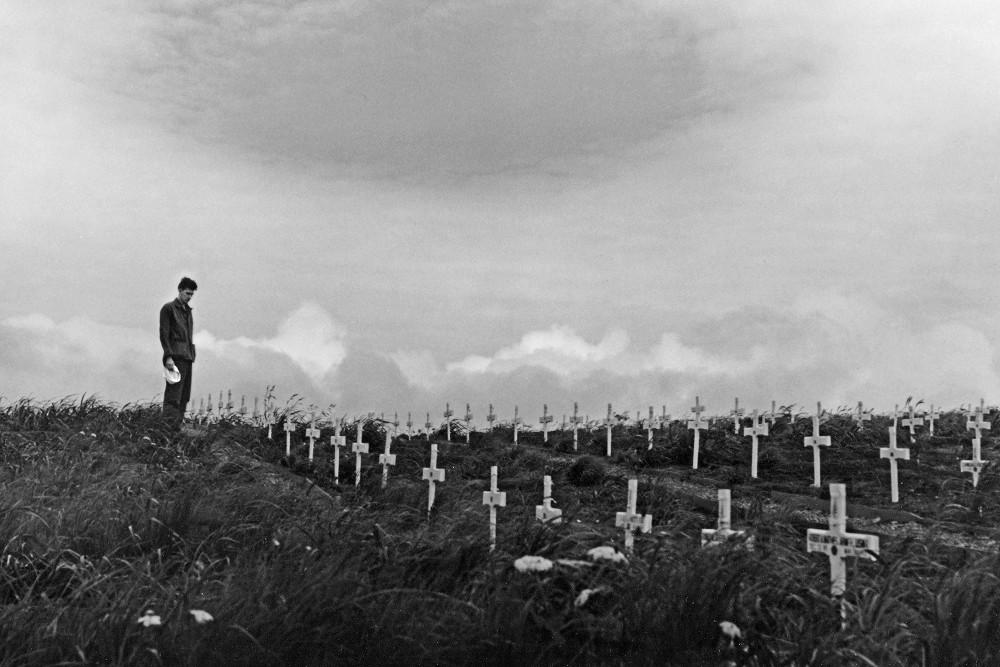 Former American War Cemetery Adak