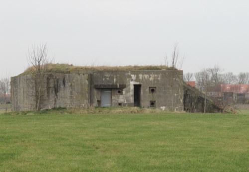 Stützpunkt Krimhild Landfront Vlissingen New Abeele bunker 6 type 630