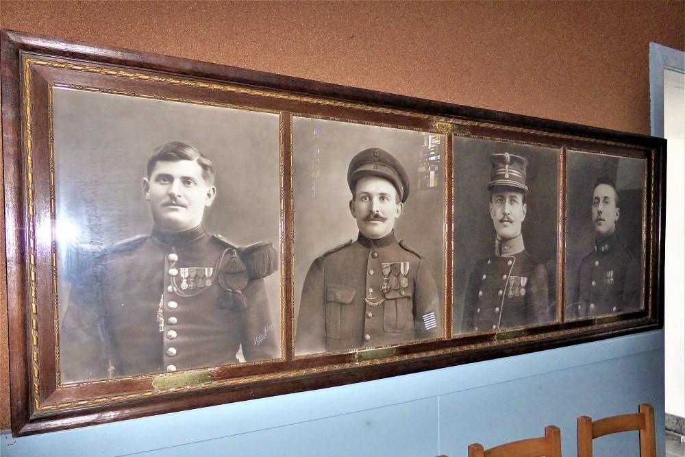 Memorial photos Lavacherie