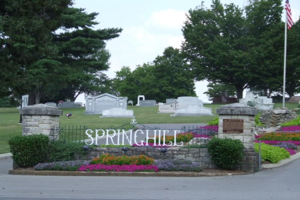 Oorlogsgraven van het Gemenebest Spring Hill Cemetery