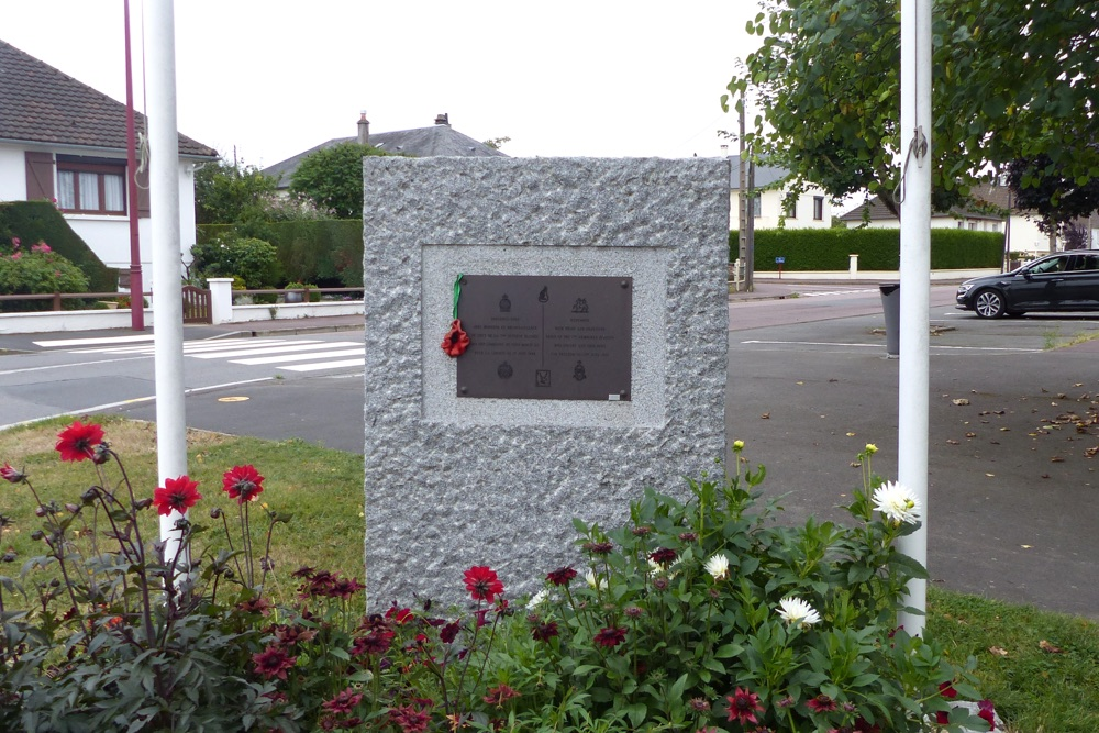 Monument 7th Armoured Villers-Bocage