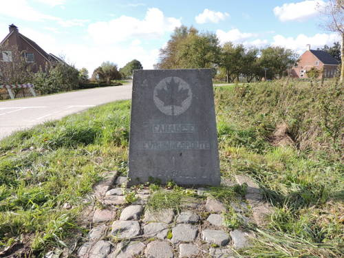 Marker No. 6 Canadian Liberation Route