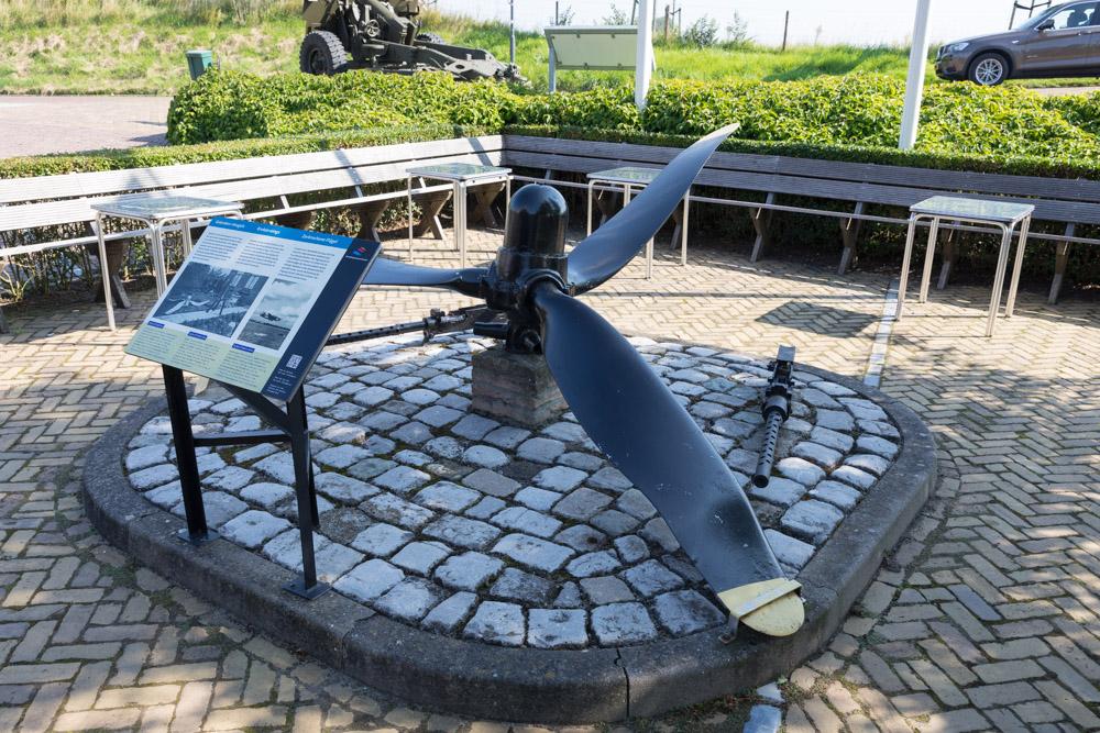 Memorial B-24 Feathered Injun