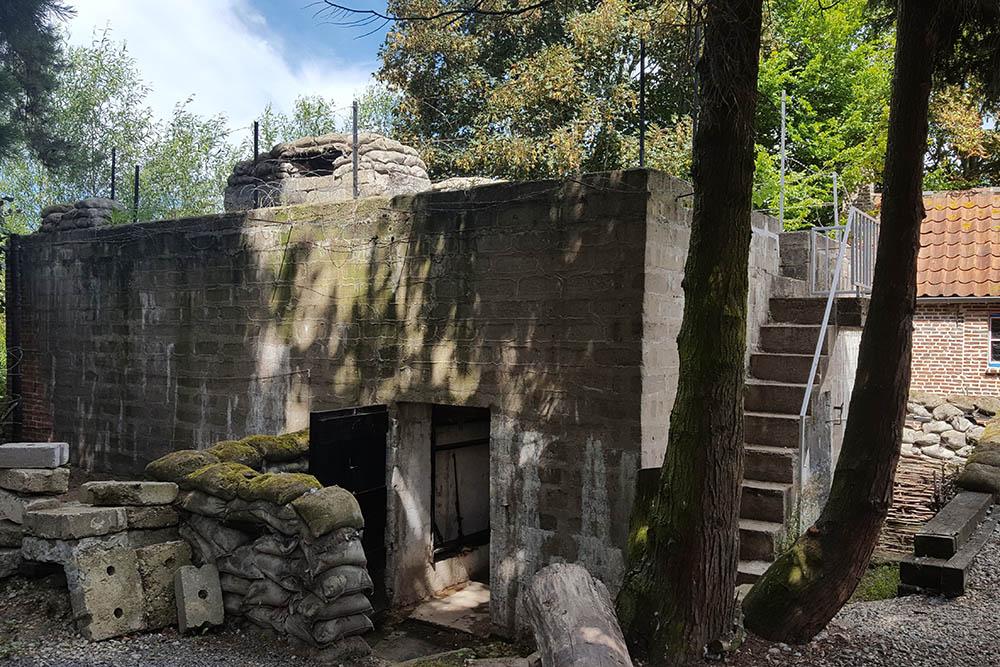Hollandstellung - Bunker Bardelaeremuseum