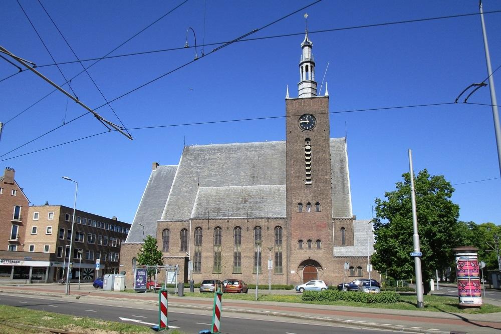 Monument Breepleinkerk Rotterdam
