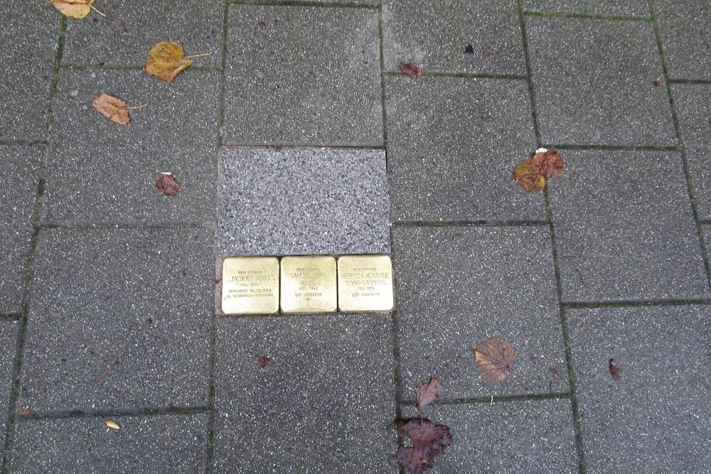 Stumbling Stones Essenburgsingel 90A
