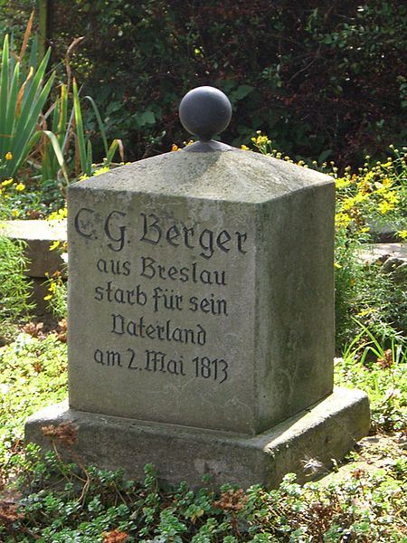 Grave of Christian Gottlieb Berger