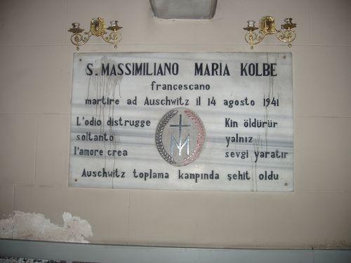 Borstbeeld S. Massimiliano Maria Kolbe