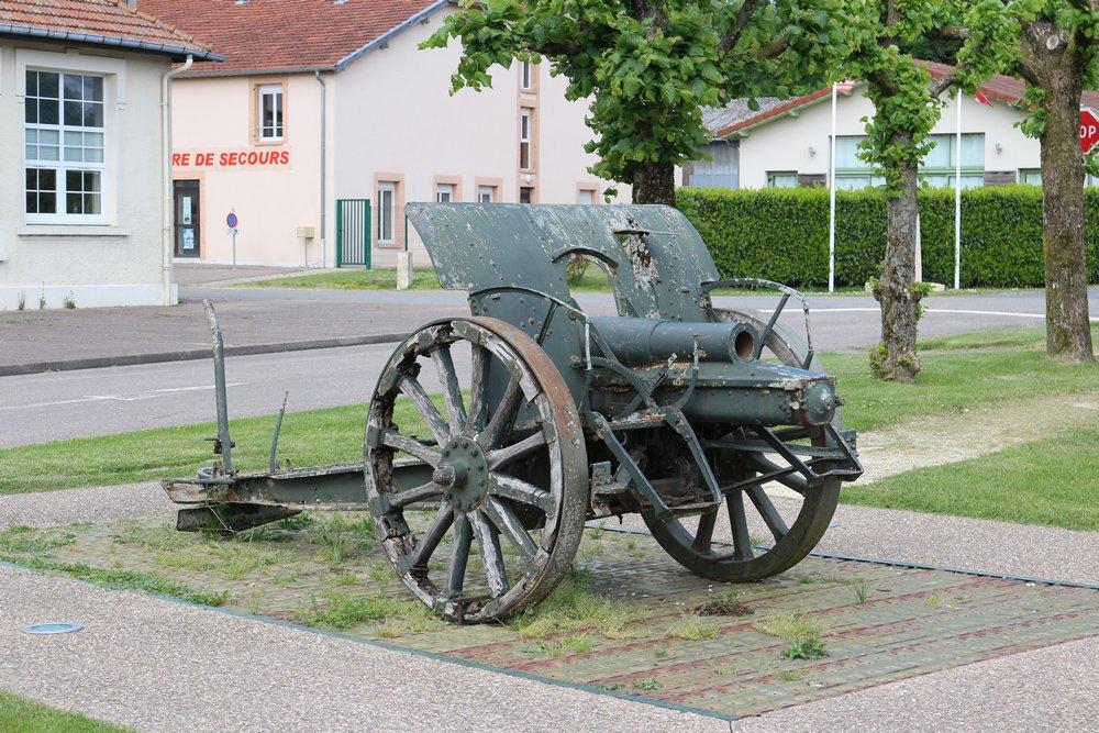 75mm Kanon Montfaucon-d'Argonne