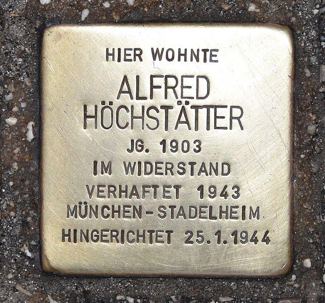 Stumbling Stone Wiener Straße 51