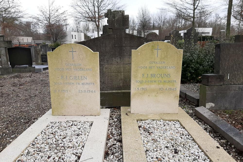 Nederlandse Oorlogsgraven Gemeentelijke Begraafplaats Nieuw-Lotbroek