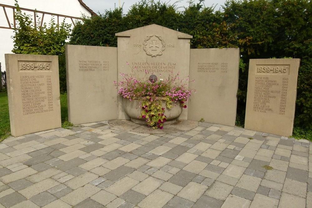 War memorial Unteruhldingen