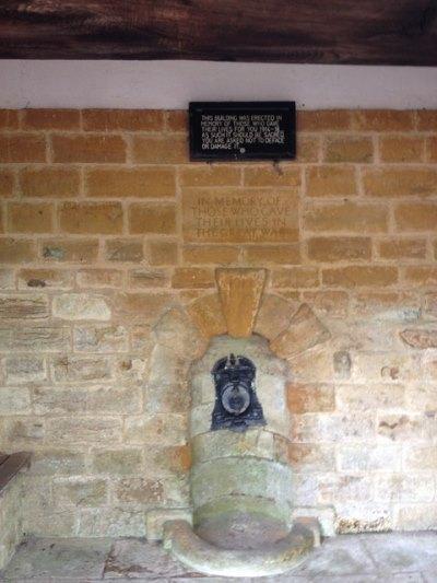 War Memorial Winwick