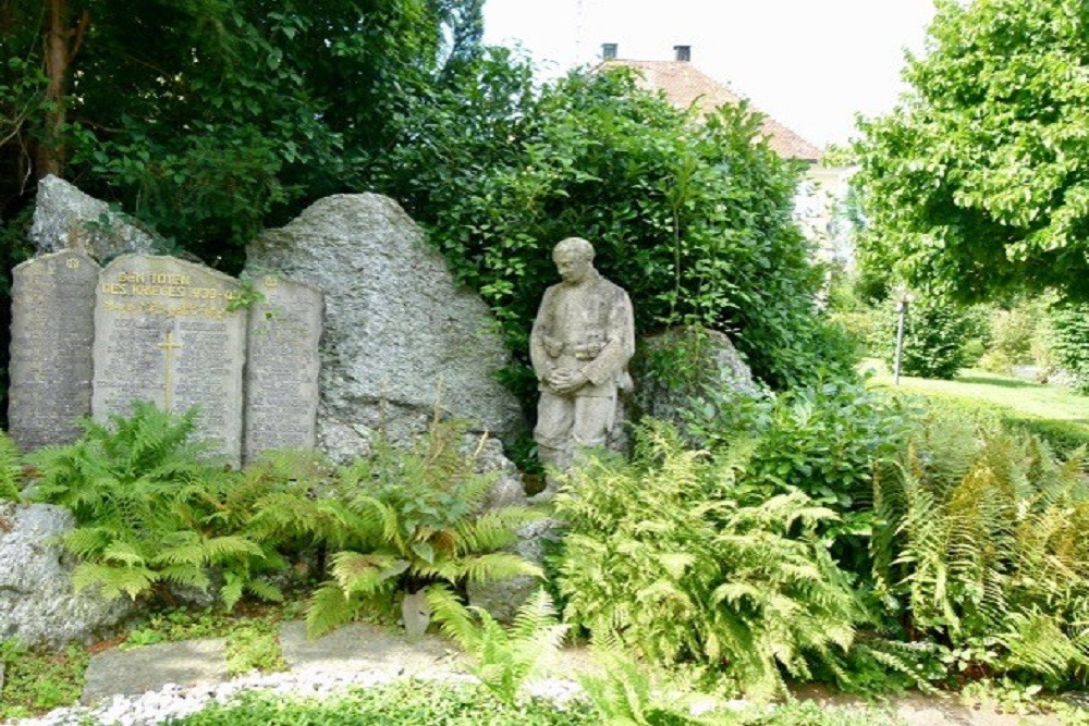 Monument To The Soldiers Who Died In WWI And WW II Laimnau