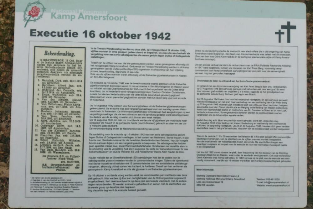 Monument Executie 16 Oktober 1942