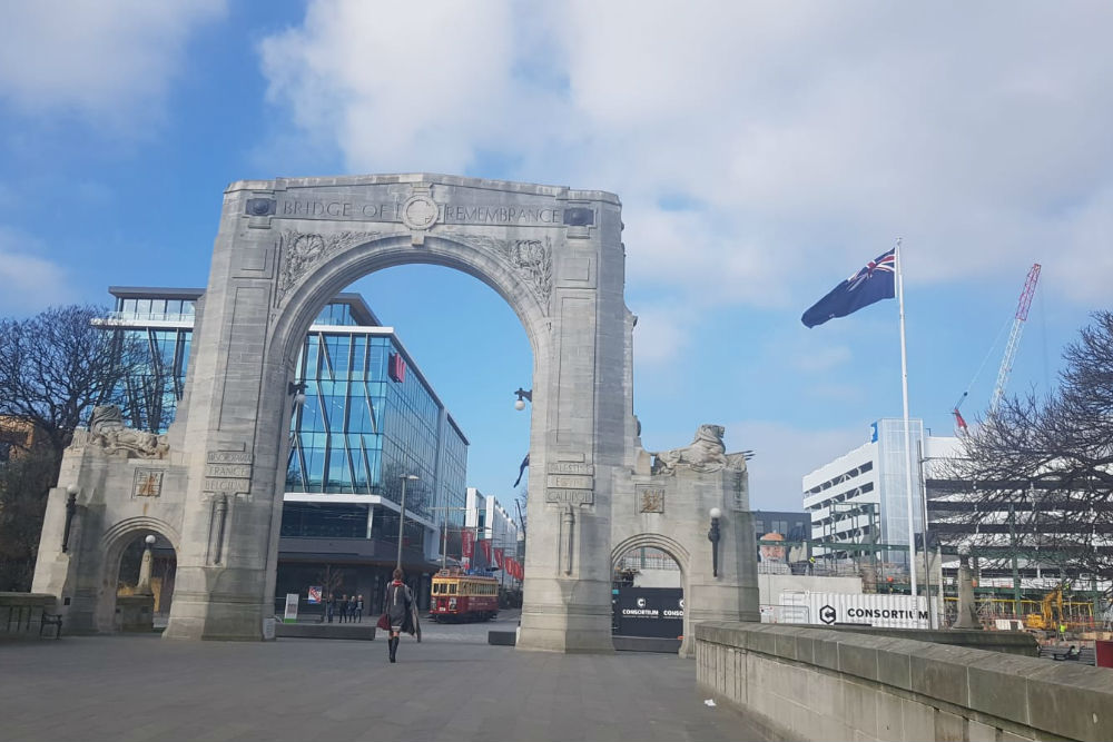 Herdenkingsbrug Christchurch