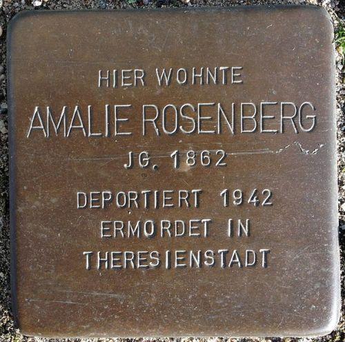 Stumbling Stone Stresemannstraße 206