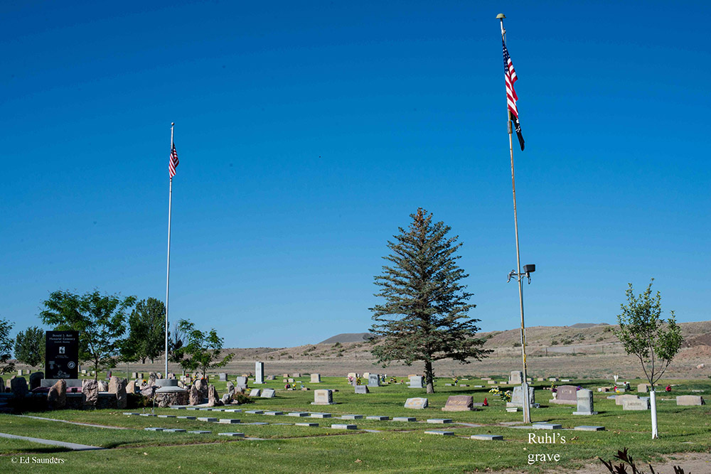 Amerikaans Oorlogsgraf Donald Jack Ruhl Cemetery