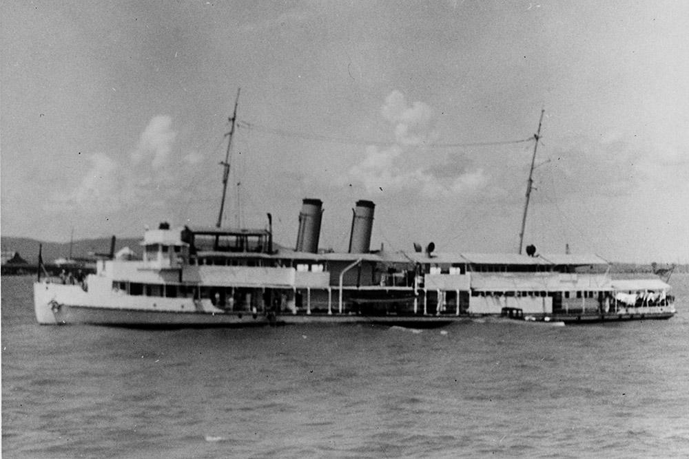 Shipwreck USS Oahu (PR-6)