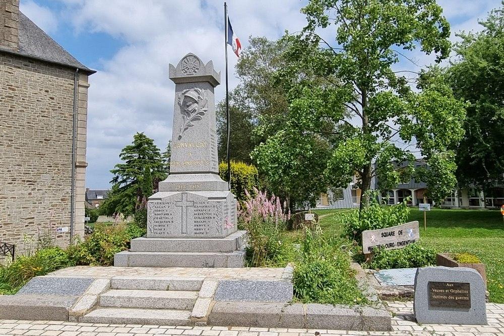 War Memorial Lanvallay
