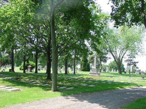 Oorlogsgraven van het Gemenebest Oshawa Union Cemetery