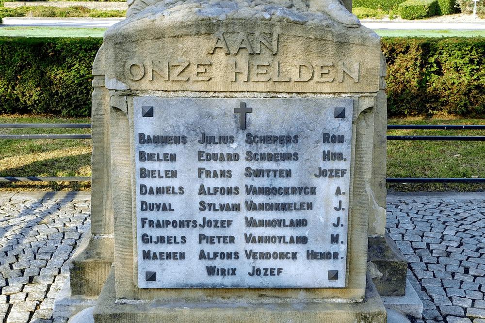 War Memorial Zonhoven