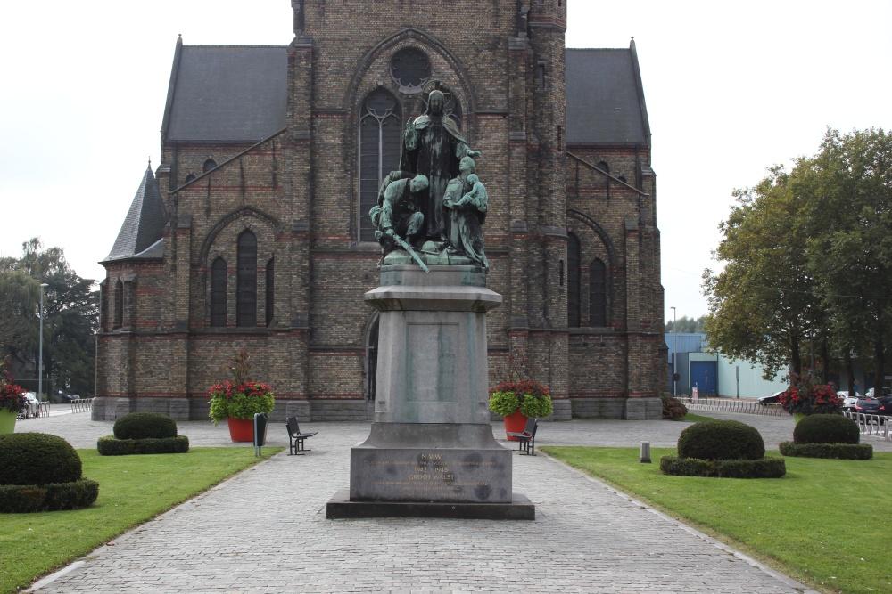 Oorlogsmonument Mijlbeek Aalst