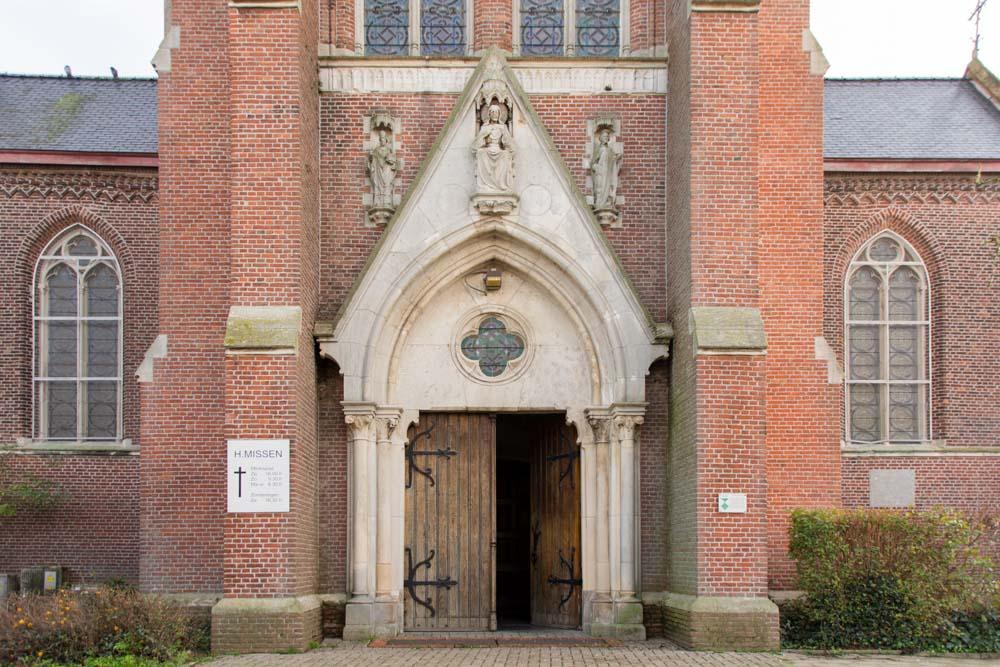 Saint Willibrord Church Merksplas Peace Monument