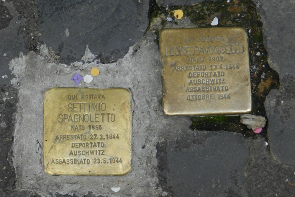Stumbling Stones Via della Reginella 19