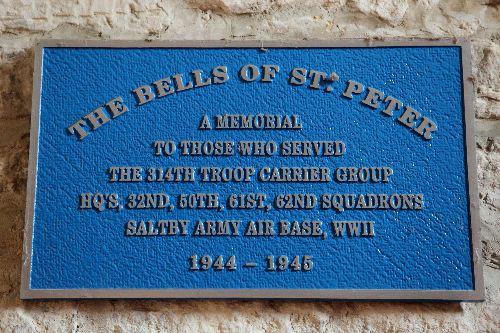 Memorial Plaque 314th Troop Carrier Group
