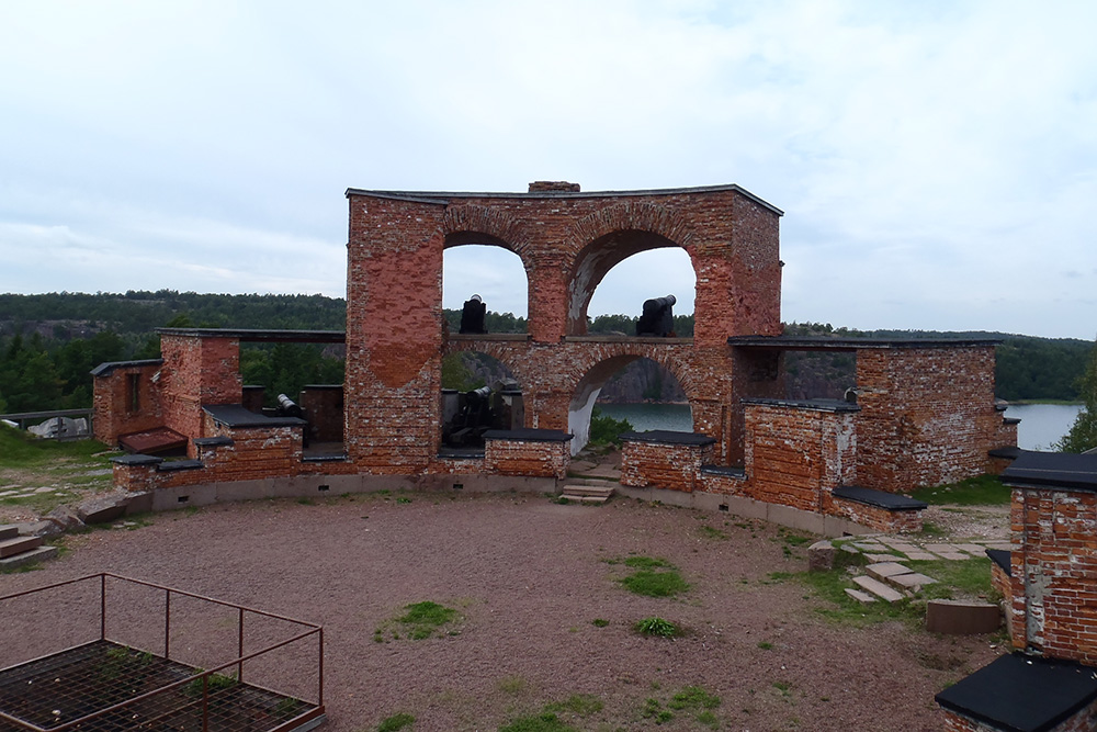 Remains Fort Bomarsund