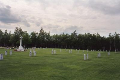 Commonwealth War Cemetery Gander