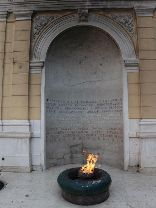 Liberation Memorial Sarajevo