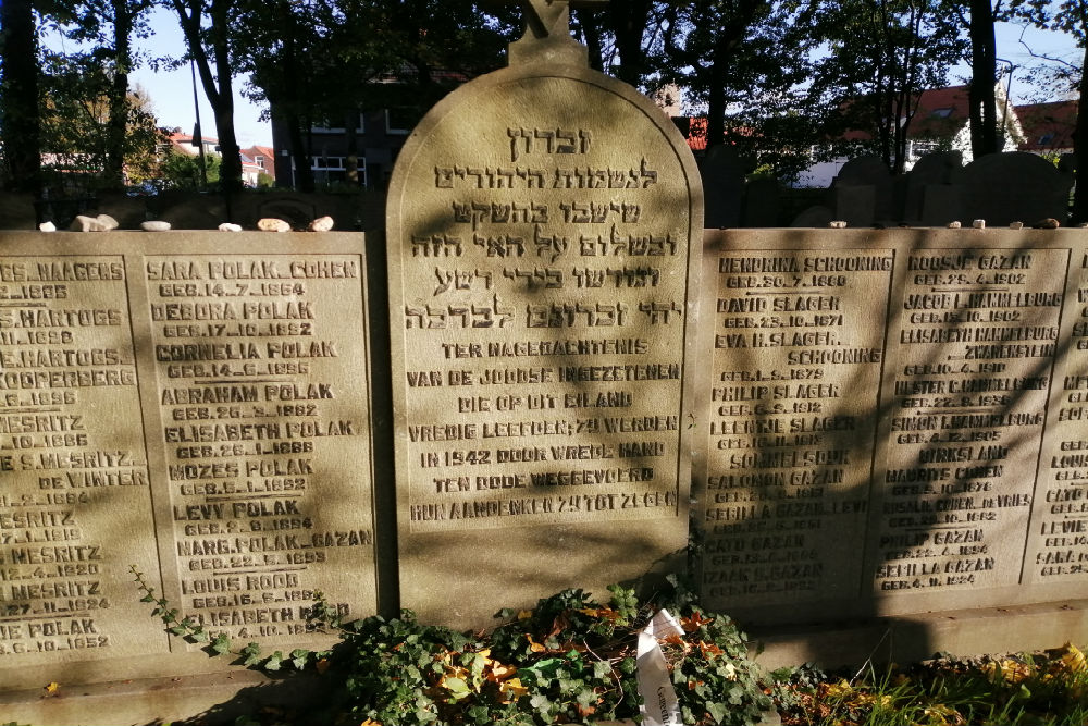Joods Monument Oude Joodse Begraafplaats Middelharnis