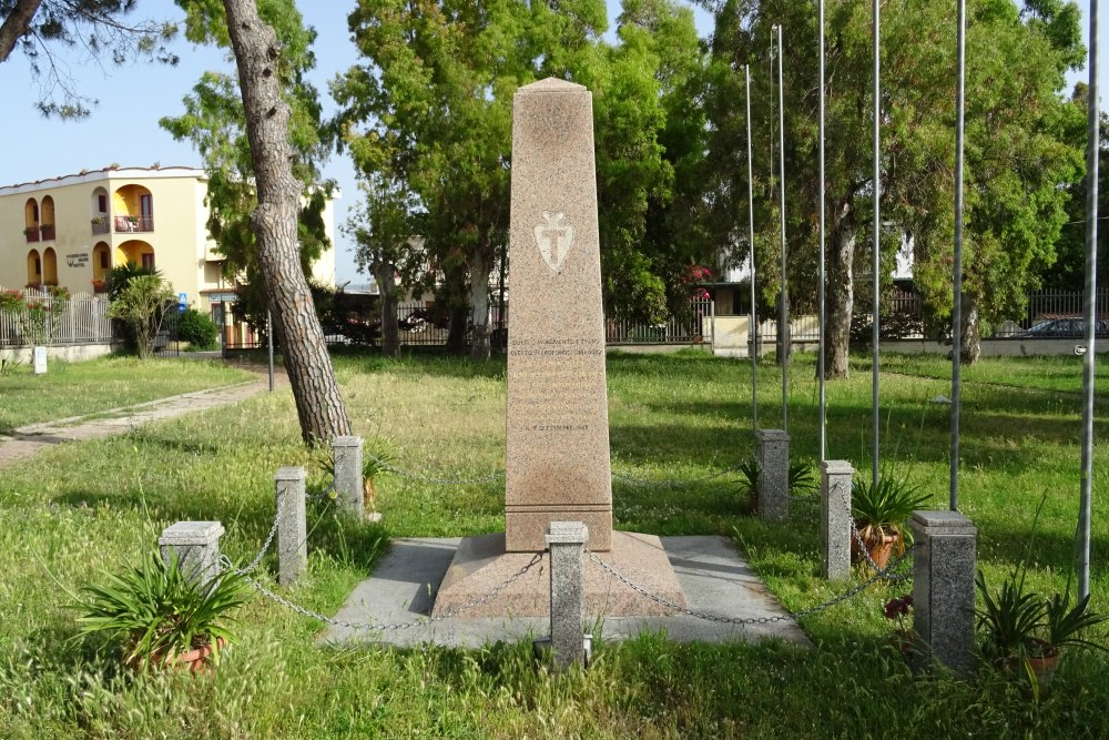 Monument U.S. 36th Infantry Division Paestum