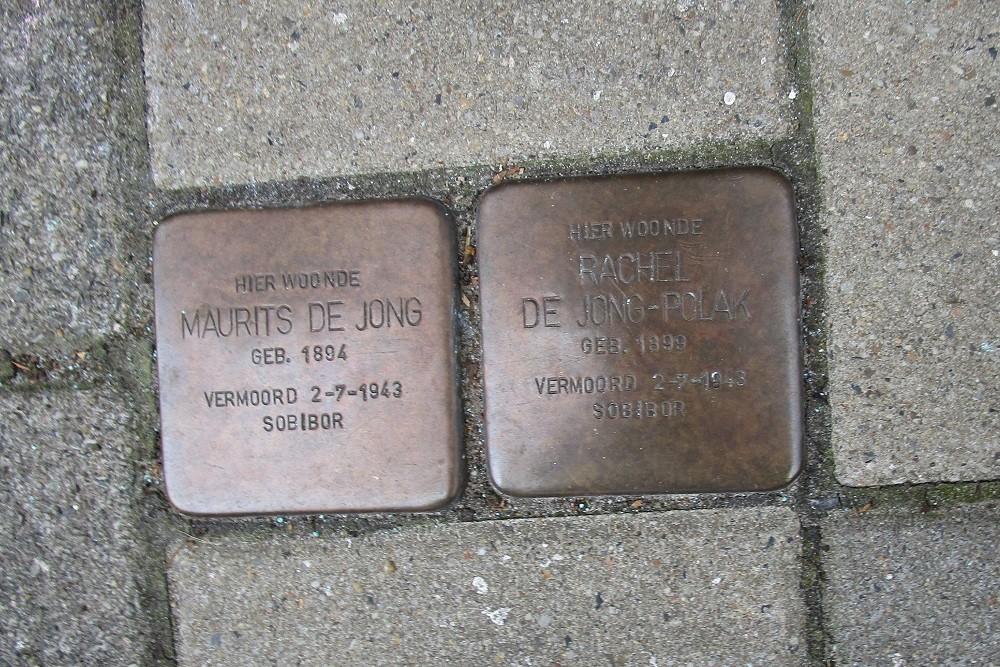 Remembrance Stones Dintelstraat 39-I