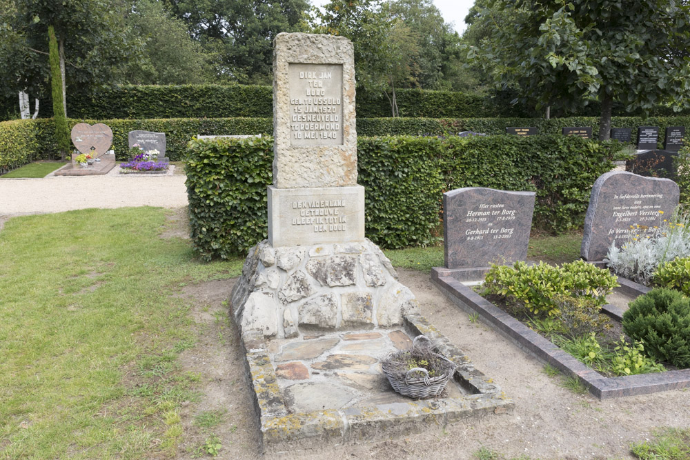 Dutch War Graves Dutch Reformed Cemetery Usselo