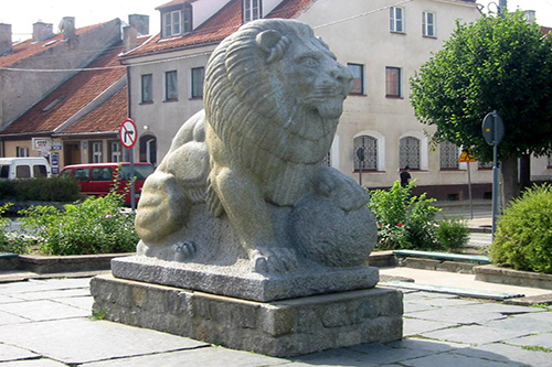 Lion Statue Tannenberg Memorial