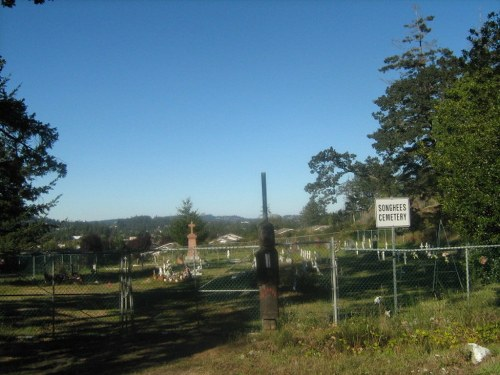 Commonwealth War Grave Songhees First Nations Cemetery