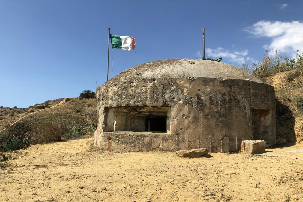 Italian Bunkers Ponte Dirillo