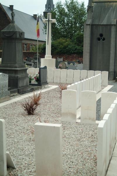 Oorlogsgraven van het Gemenebest Elouges