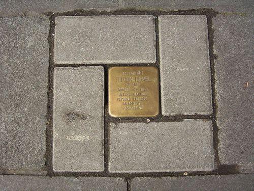 Stolperstein Rue Chavannes 38