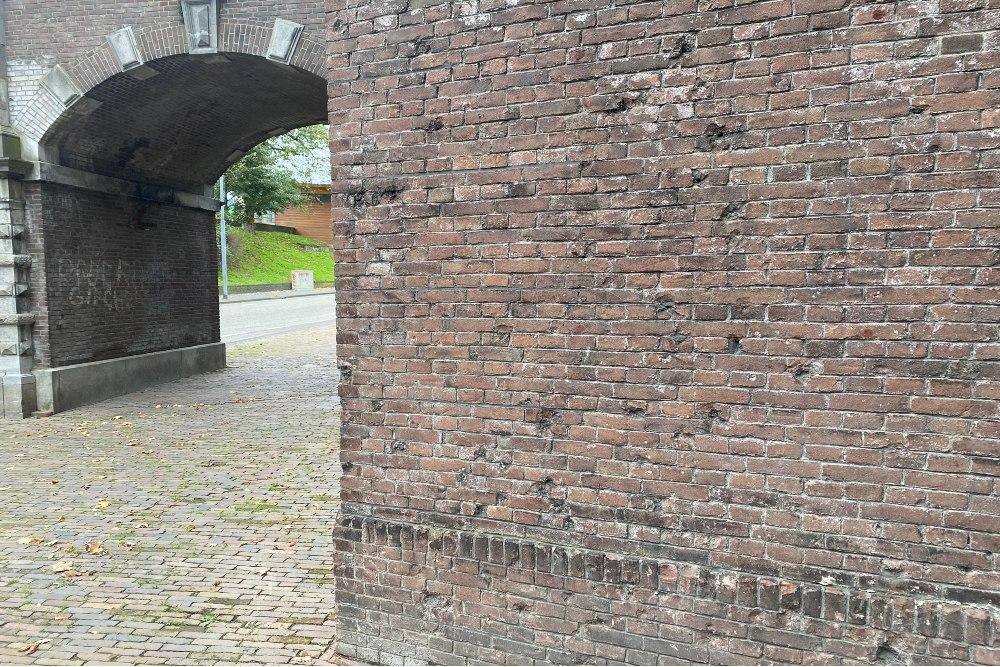 War damage Voerweg
