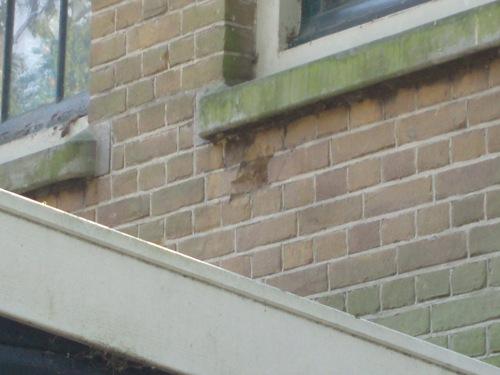 Granaatscherfschade School Mühring