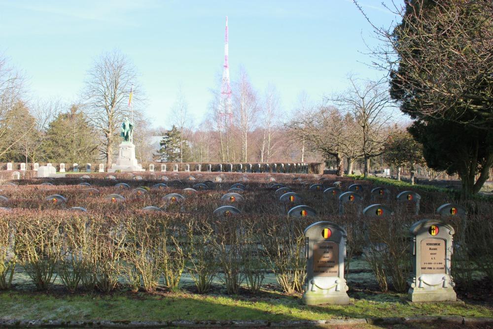 Belgische Oorlogsbegraafplaats Boncelles
