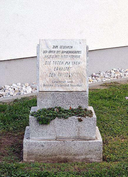 Monument Bombardement 21 Februari 1945