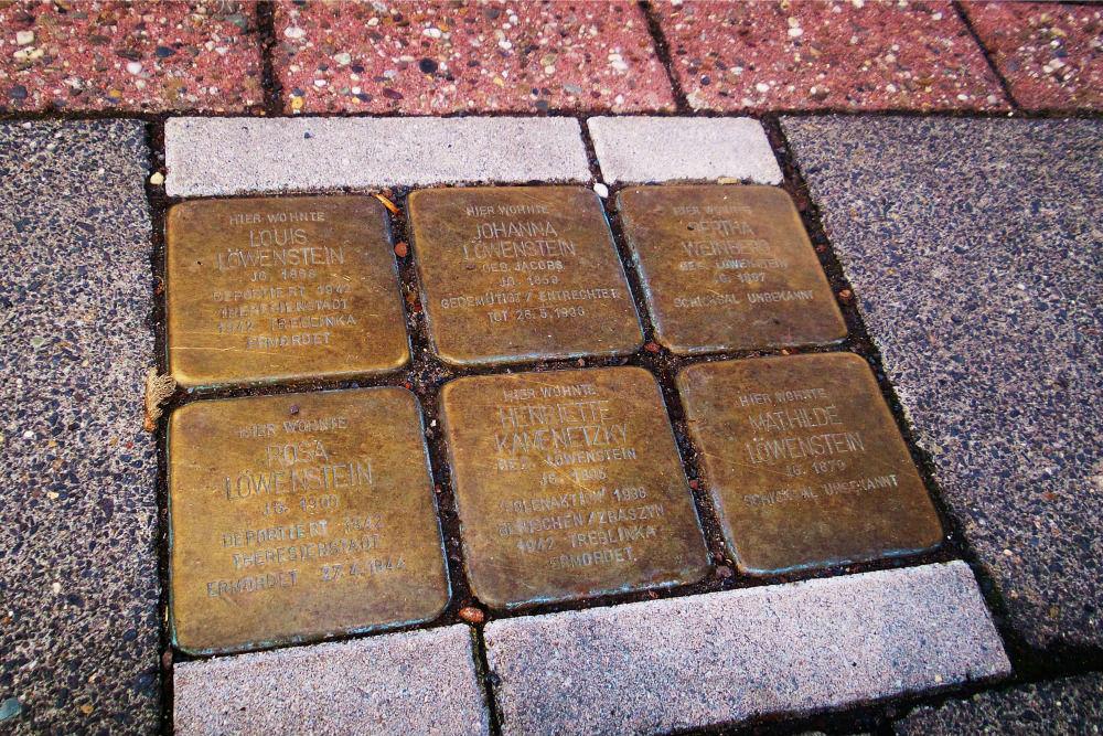 Stumbling Stones Große Straße 55